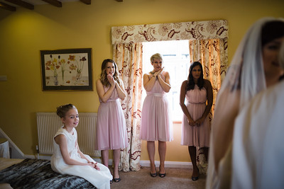 Delbury Bride Preparations Bridesmaids