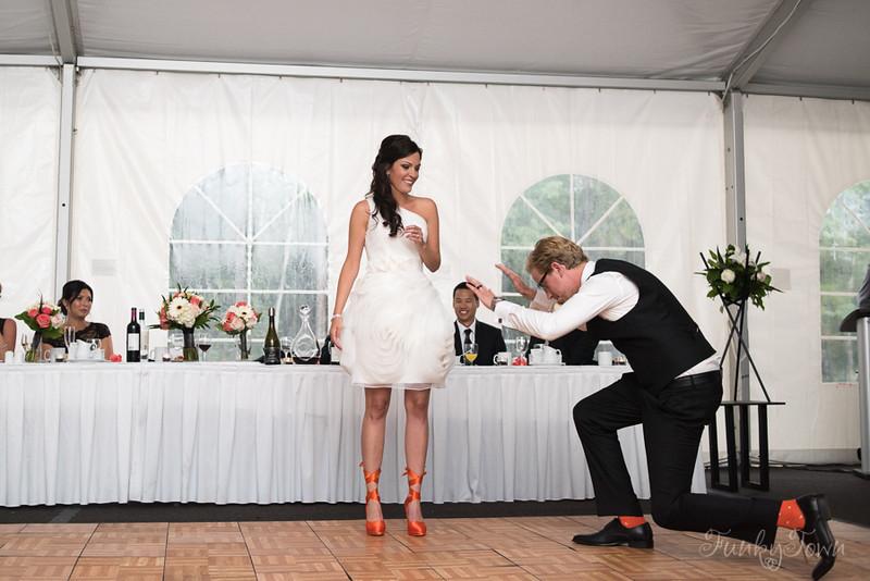 Delta Kananaskis Lodge Wedding Reception - wedding tent