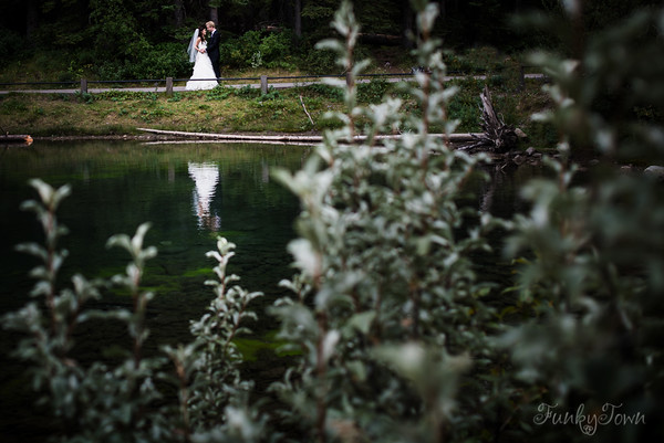 Lorette's Pond Wedding in Kananaskis Alberta