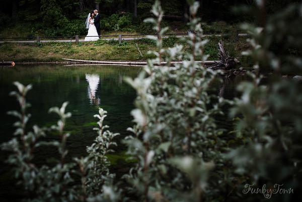 Lorette's Pond Wedding in Kananaskis Alberta