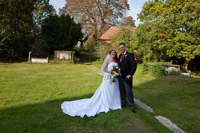 Wedding at Coggeshall, Essex