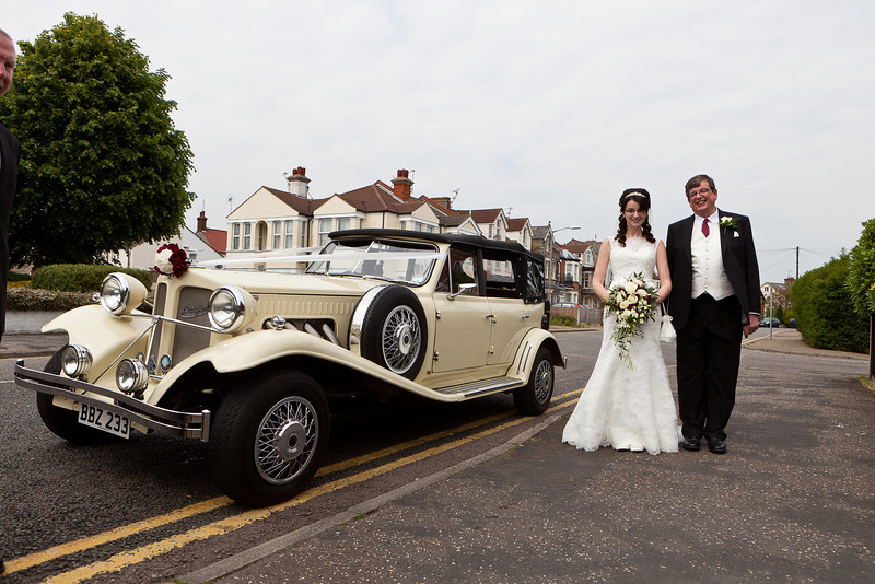 Wedding at Clacton on Sea