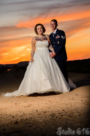 Kyle and Molly's Phoenix Wedding Photographer - Studio 616 Photography