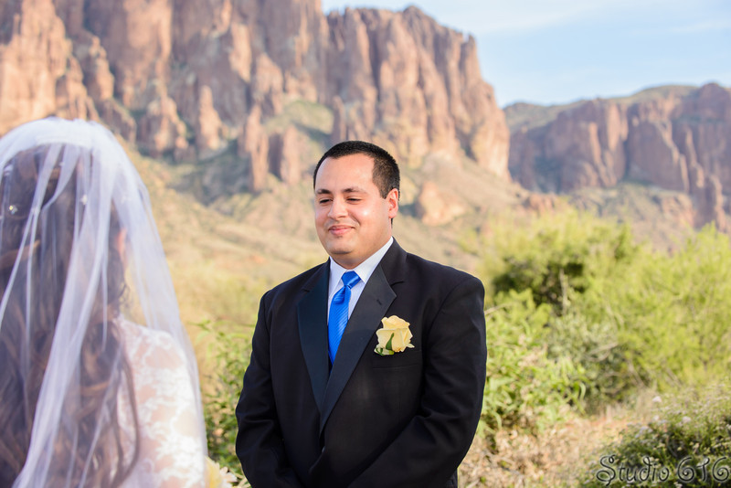 Erica and Gilberto's Phoenix Wedding Photographer