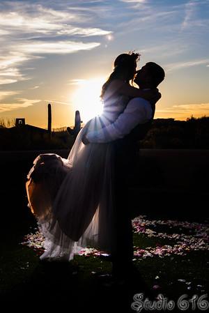 Studio 616 Phoenix wedding photographers - Portfolio 1 Bride Groom