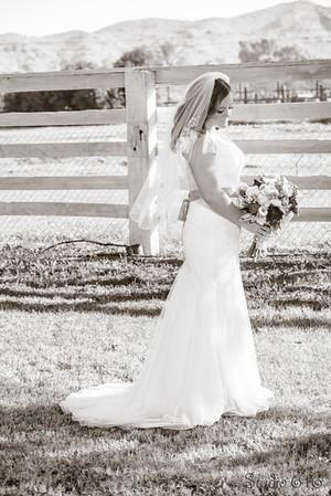 phoenix wedding photographer - bride and groom portrait wedding photography