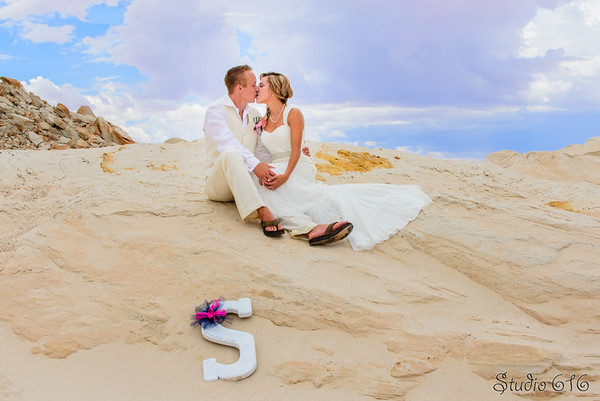 Wedding Photography Phoenix, Lake Powell, Beach Wedding