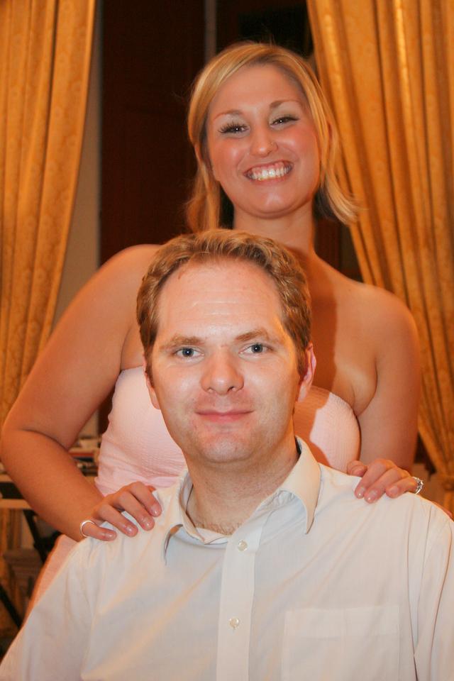 Kelly and Joe's wedding
