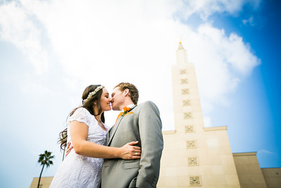 LDS Temple Wedding Photography