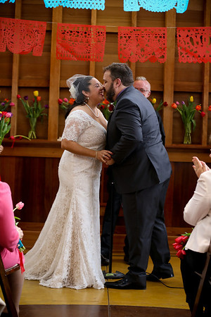 Marissa and Tom's Day of the Dead inspired San Francisco Wedding at Sunnyside Conservatory