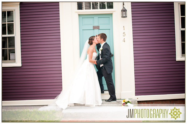 Old North Church Portsmouth NH Wedding Photography