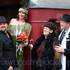 Vintage styled wedding, Silverstream steam train, Wellington.