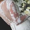 Wedding Dress details -Wallaceville Church