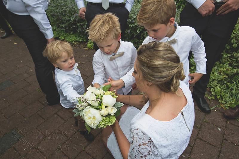 Bridal Bouquet-Wallaceville Church
