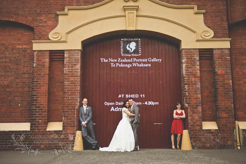 Wellington waterfront wedding