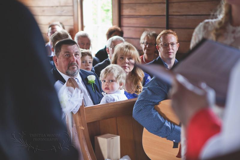 Wedding Ceremony-Wallaceville Church