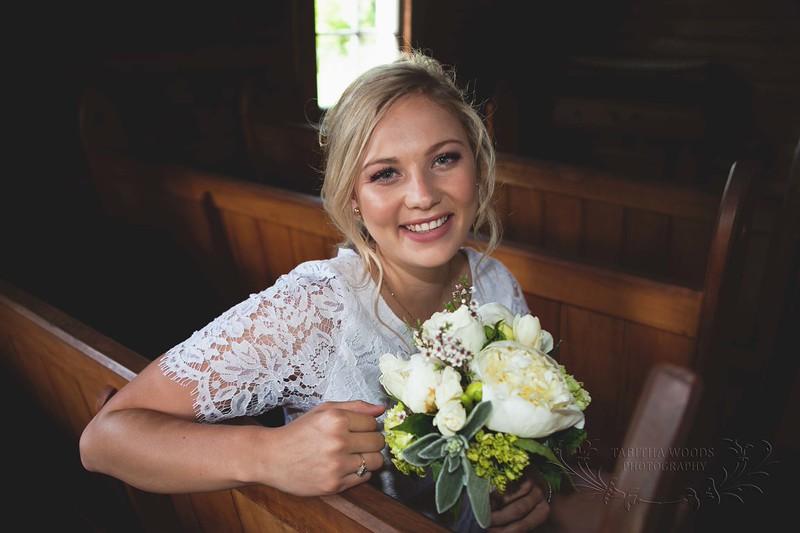Wedding Portrait-Wallaceville Church