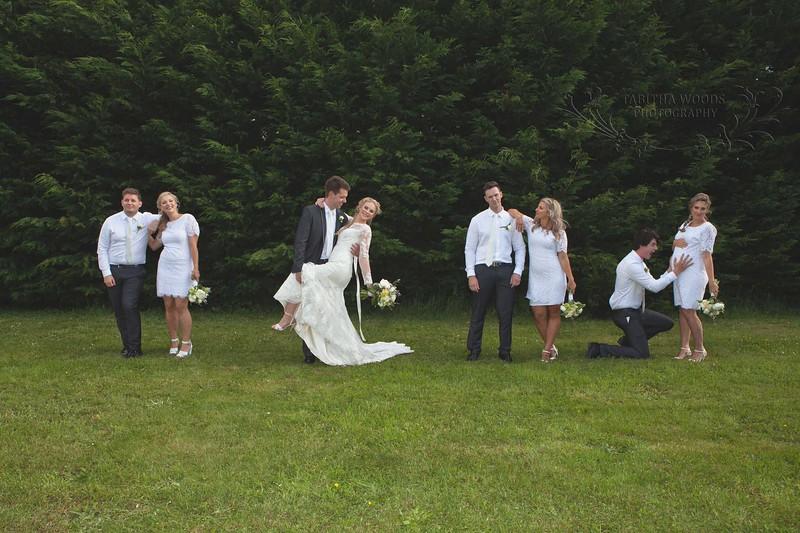Wellington Wedding photographer-Bridal Party Photos.