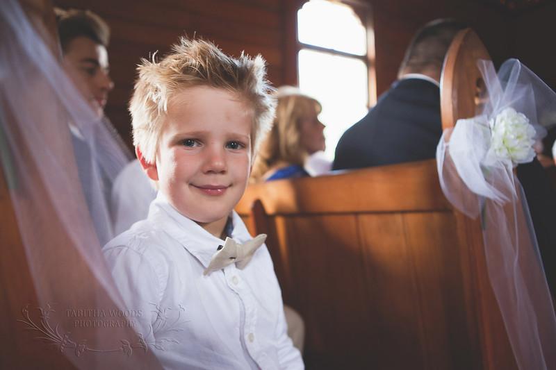 Wedding Ceremony -Wallaceville Church