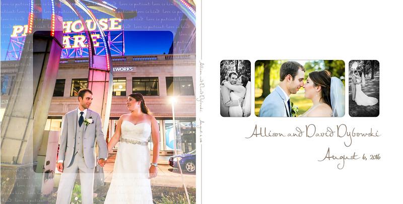 Allison & David 10x10 Flush Mount Album