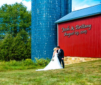 Brittany & Josh 13x11 Wedding Album