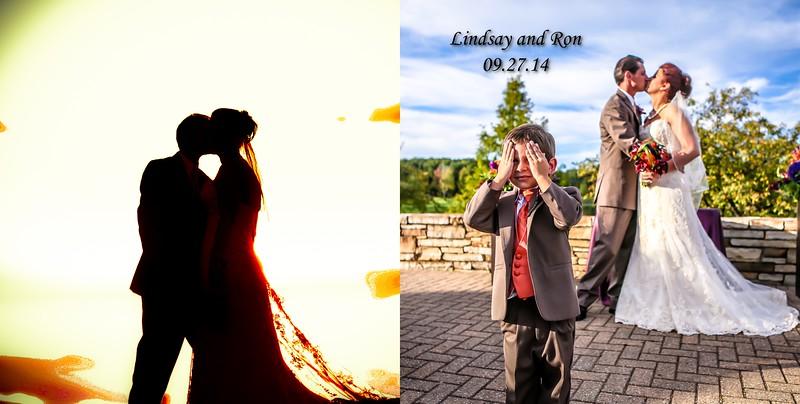 Lindsay & Ron 12x12  Flush Mount Wedding Album