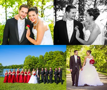 Melissa & Tim 13x11 Wedding Album