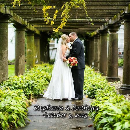 Stephanie & Anthony 12x12 Storybook Wedding Album