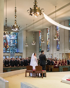 Maggie & Cameron at Christ the King Center 10.14.17.