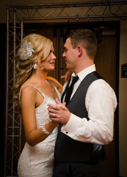 peyton wedding bride and groom dancing