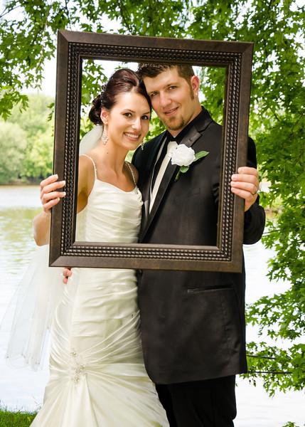 Wiskus wedding brides pictureframe