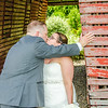 dierkes wedding kiss by barn