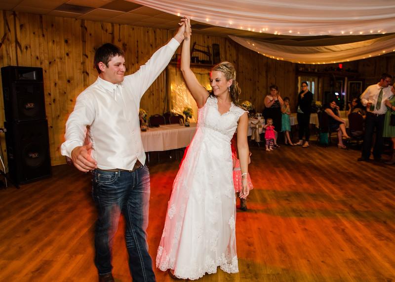 Loftus wedding first dance