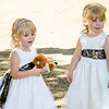 bourgeois Wedding flower girls