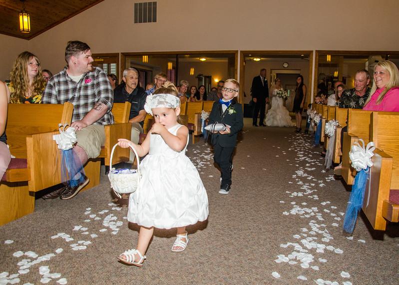 Danielson wedding flower girl and ring bearer