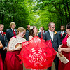 Kriel wedding party on road