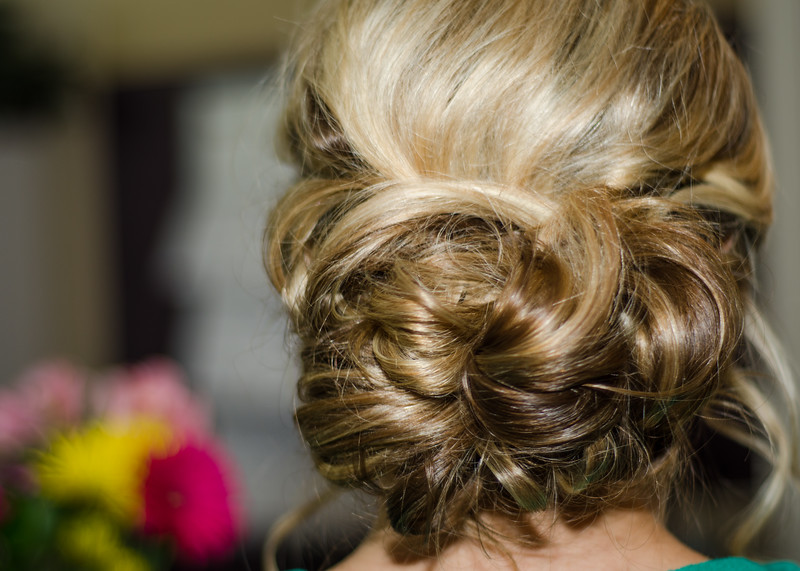 Loftus Wedding Hair