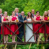 Kriel wedding wedding party side view of bridge