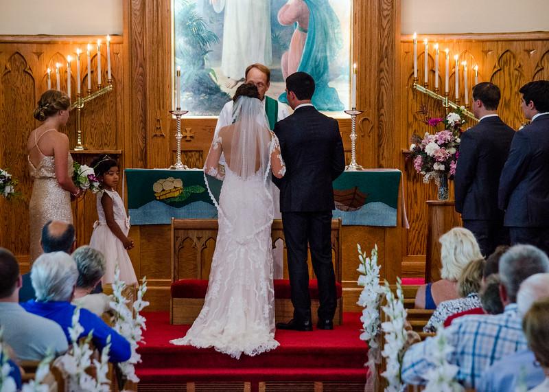 Zamora wedding ceremony