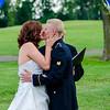 Stello wedding first kiss