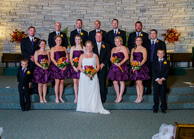 Loehrs Wedding party