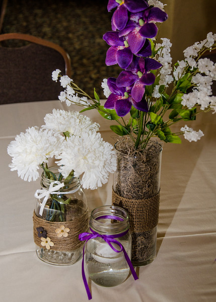 Riess wedding flowers