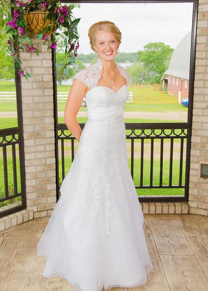 farmhouse bridal shoot
