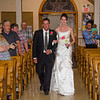 Wiskus wedding goind down the isle