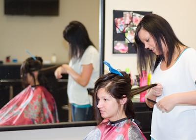 Risa Wedding Hair