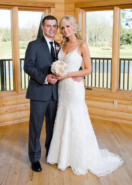 Peyton wedding bride and groom