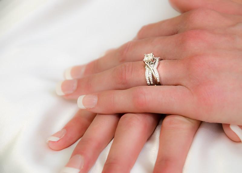 Wiskus wedding brides rings