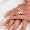 Wiskus wedding brides rings
