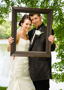 Wiskus wedding brides pictureframe