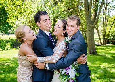 Zamora wedding siblings